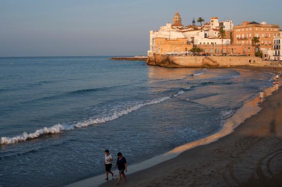 Platja de sant sebasti sitges costa barcelona - Fotos de sitges barcelona ...
