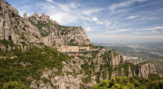 Costa de Barcelona, España: Muntanya de Montserrat (Costa Barcelona)
