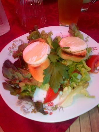 Du Cote de Chez Swann : Salade de chèvre chaud