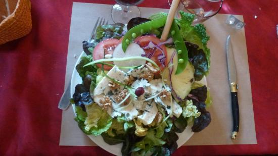 Salade d 39 entree tres copieuse photo de la chanterelle - Cuisiner la chanterelle ...