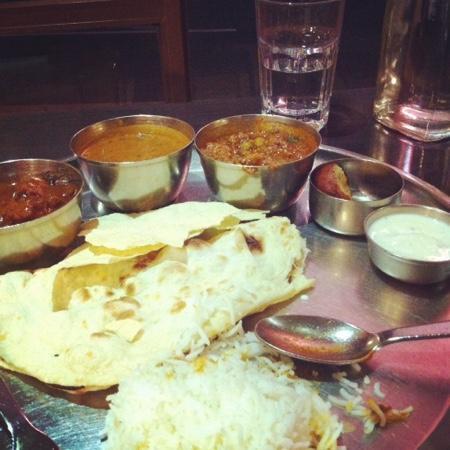 Nilgiri's: Meat Thali!