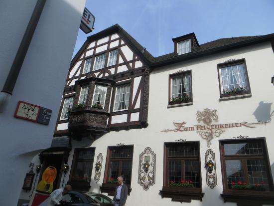 Hotel Felsenkeller: Entrance