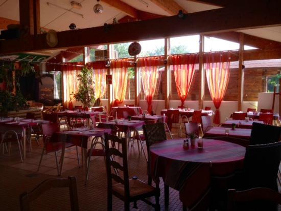 Camping International Erromardie: restaurant