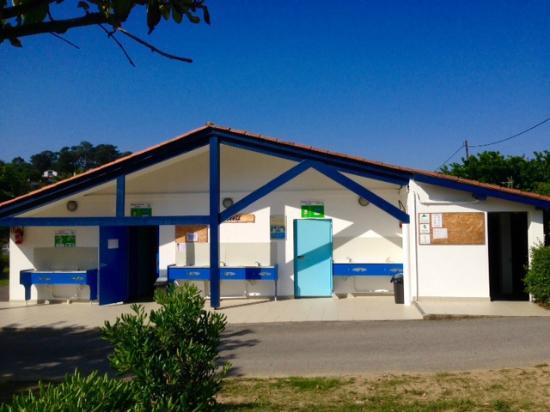 Camping International Erromardie: sanitaires