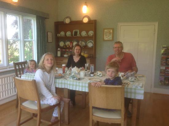 Manor Court Farm : Fabulous breakfast