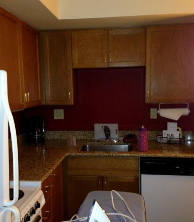 Residence Inn Pittsburgh University/Medical Center: awesome kitchen facilities