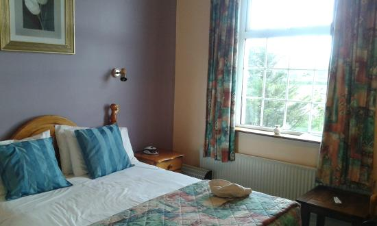 Alpine Guesthouse: Letto