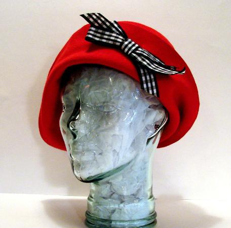 Barrie, Canada: One of a kind wool cloche