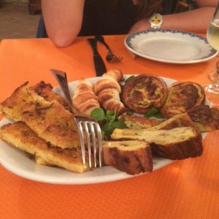 U Piccin: antipasto misto ligure