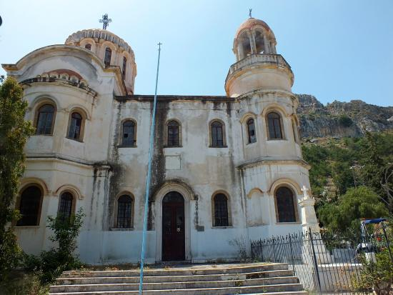 Kastellorizo, Yunani: Front of church