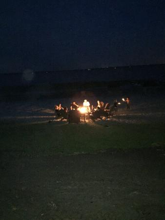The Nest on Lake Weir: Gas Firepit on Beach