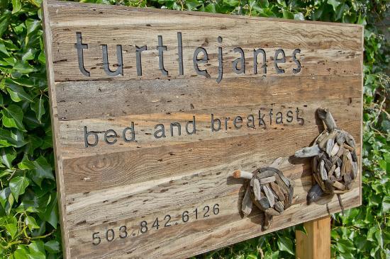 Turtlejanes Bed and Breakfast: Entryway