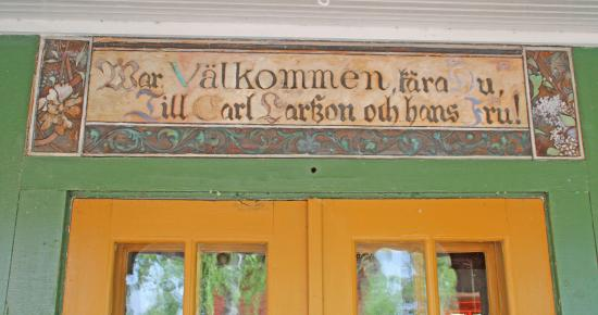 Carl Larsson-garden: Välkommen kära du till CarlLarsson och hans fru.
