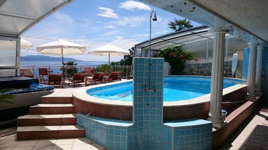 Villa Roses Apartments & Wellness: Pool area