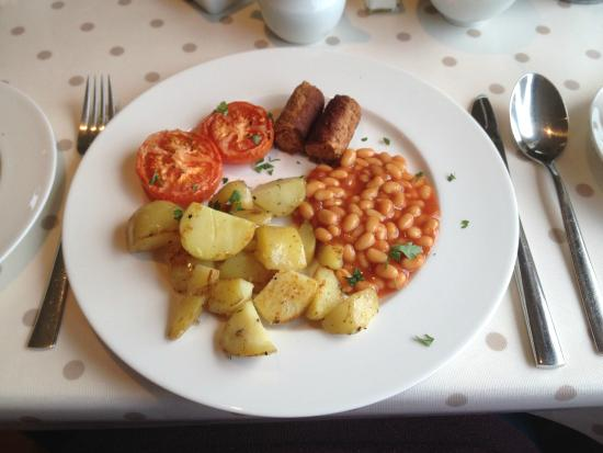 Hillside Lodge: Vegan Full Irish Breakfast