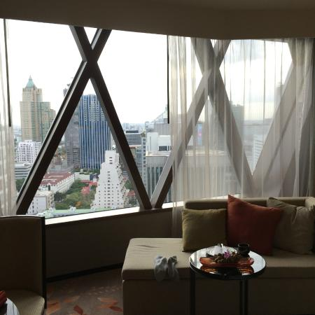 The Okura Prestige Bangkok: View from my room at xx16