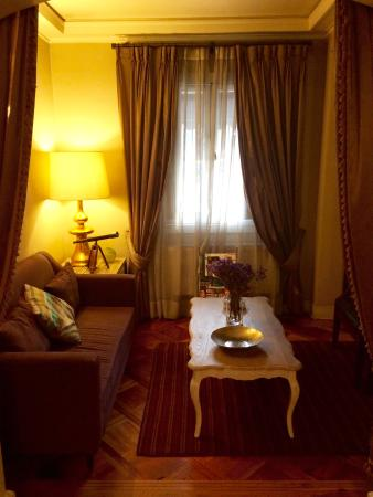 Mito Casa Hotel: Sala descanso