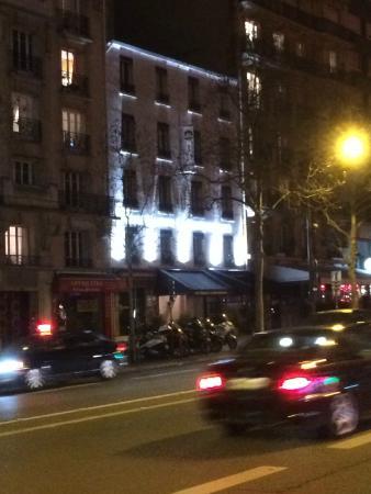Best Western Hotel Le Montparnasse : Strassenansicht