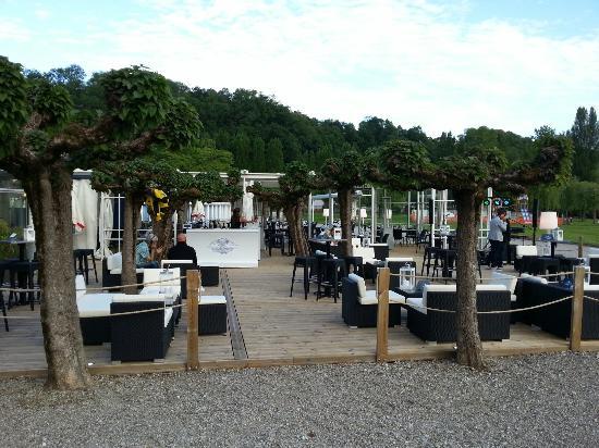 Restaurant de la plage photo de la plage aix les bains - Restaurant la folie des grandeurs aix les bains ...