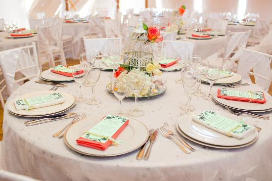 Wedding Reception Table Decoration Picture Of Palapa Juanillo