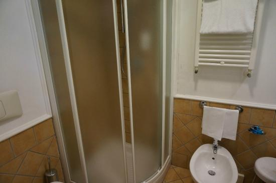 Small shower stall - Picture of Dioscuri Bay Palace Hotel, San Leone ...