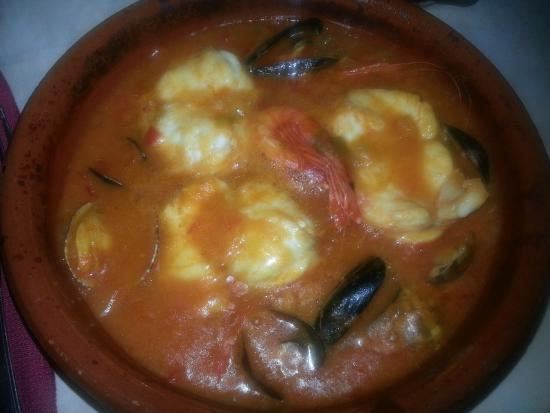 Restaurante La Alcazaba: Soupe de poisson