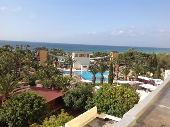 Hotel Manar: View from my room!