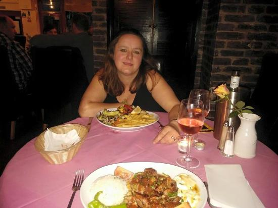 Istanbul Restaurant: Happy with main courses