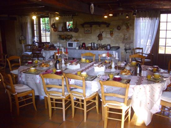La Guérinière : salle à manger