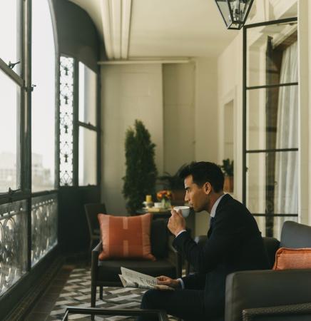 Fairmont San Francisco : Buckingham Balcony Suite