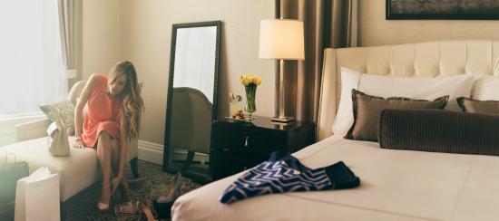 Fairmont San Francisco : Cambridge Suite Bedroom