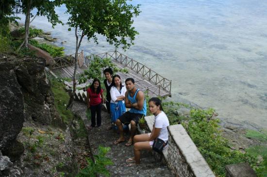 Terra Manna Beach Resort & Camping : beachfront