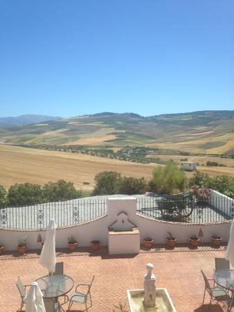 El Amparo: the view from our bedroom door