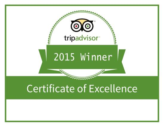 Bull Bar Benalmadena: Tripadvisor Certificate of Excellence Award 2015