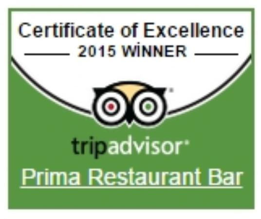 Prima Restaurant Bar : With our best regards to our kind guests