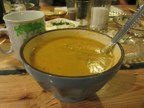 Hamarakiya: sweet potato soup