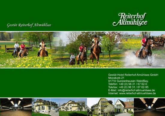 Reiterhof-Altmühlsee: Reiterhof
