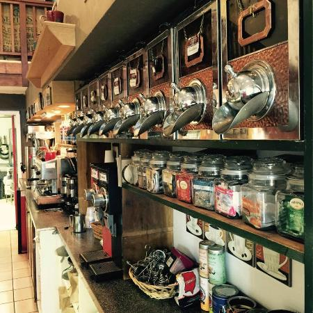 Kojay's Eatery & Coffeehouse: always have organic coffee you can buy whole bean or we can grind it for you