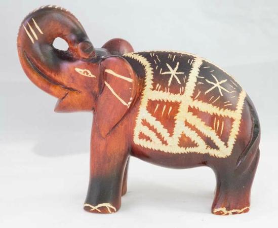 Uvero Alto, جمهورية الدومينيكان: Handmade Elephant Stone