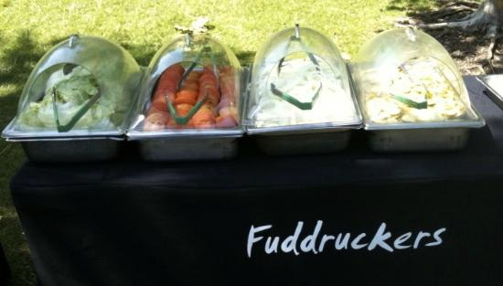 Fuddruckers : An example of our catering setup
