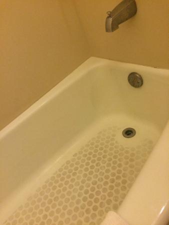 Golden Palms Inn & Suites: brown tub