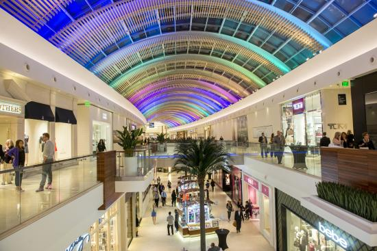 The Mall At University Town Center: LED Roof
