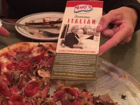 Marys Pizza Shack : You got to eat here!
