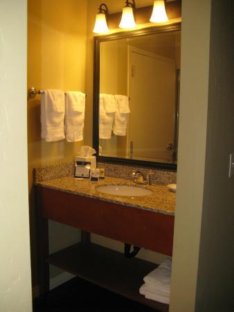 Uintah, Utah: vanity-separate from shower\toilet area