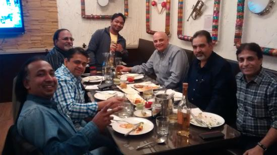 Fusion Asia Indian Restaurant and Bar: Party Time