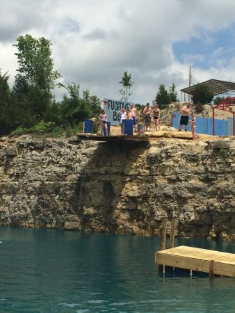 Rolla Mo Cliff Jumping