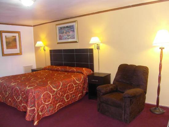 Flamingo Inn: king size room