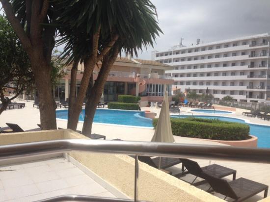 THB Guya Playa: View from ground floor balcony