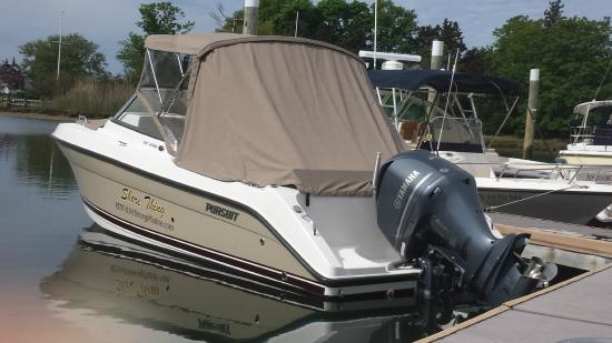Strong's Marine Boat Rentals: 23' Pursuit 235DC Rental $795/day