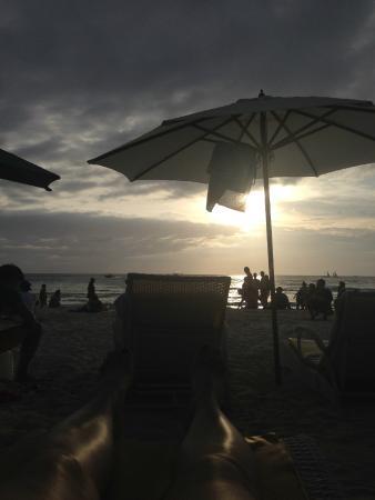 La Reserve Beach Hotel: пляж